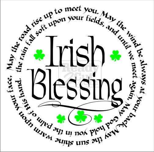 Irish Blessing May the Road