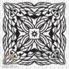Square Mandala vector file download