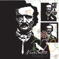 Edgar Allan Poe design set