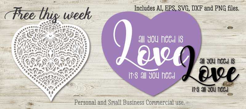 Weekly free file All you need is Love