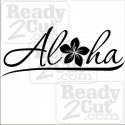 Aloha and Plumeria - vector images