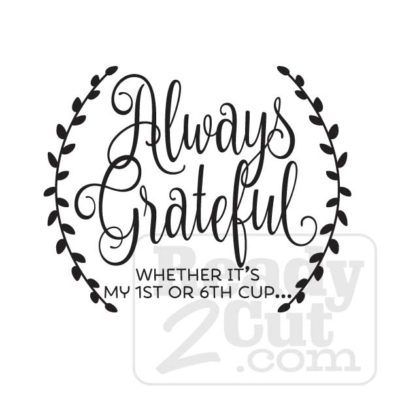 Always Grateful vvector file download