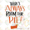 There's always room for pie!