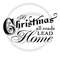 At Christmas all Roads Lead Home vector files to download
