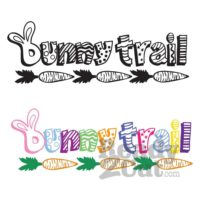 Bunny Trail Vector file download
