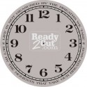 Clock Face - Round - Numbers - Breaths We Take