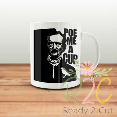 Cup of Poe Mug Design