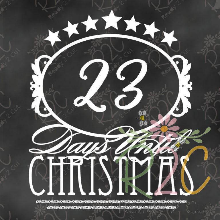Days Until Christmas Countdown.Days Until Christmas Countdown Victorian