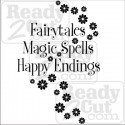 Fairytales, Magic spells, Happy Endings - vector image