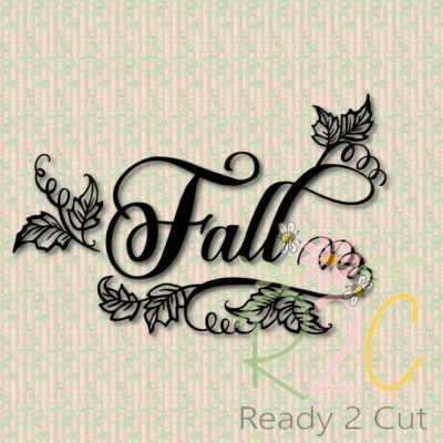 Fall with swirls digital file download