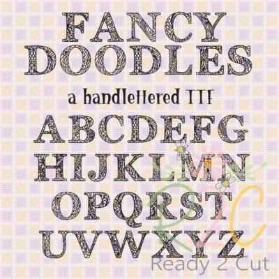 RH Fancy Doodles Font