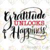Gratitude Unlocks Happiness