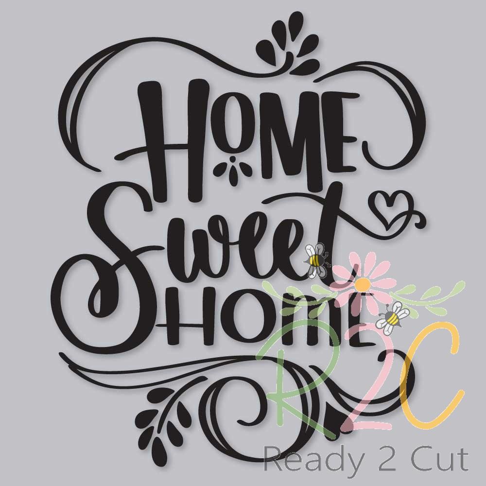 Home Sweet Ready 2 Cut Designs
