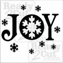 Joy with Snowflakes #2