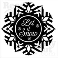 Let it Snow #3 - vector files for download