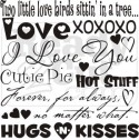 Bunch of Love Words