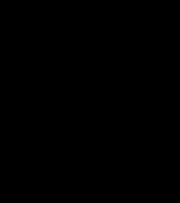 Monogram round with chevron background - alphabet