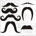 I'd love to stay, but I really.....Mustache!