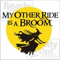 My Other Ride is a Broom!