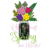 Oh Sweet Spring - vector files download