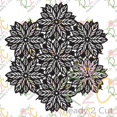 Poinsettia Mandala