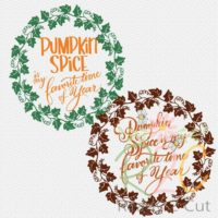 Pumpkin Spice is my favorite time of year. Digital file download