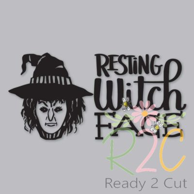 Resting Witch Face digital file download