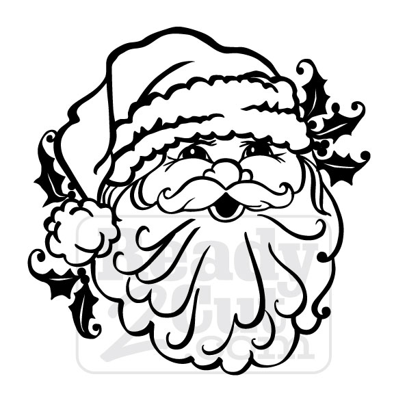 santa face santas head vector files for download