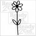 Simple Daisy vinyl ready image