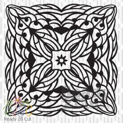 Square Mandala vector file download