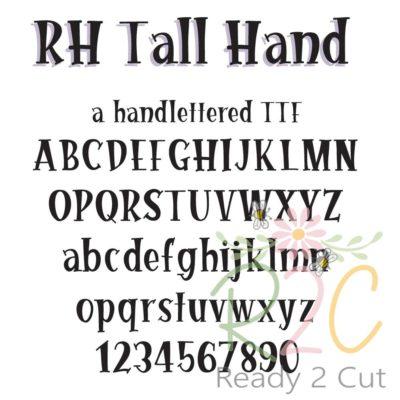 RH Tall Hand Font