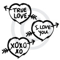 True Love Graffiti vector file download