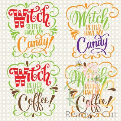 Witch better have candy or coffee digital file download